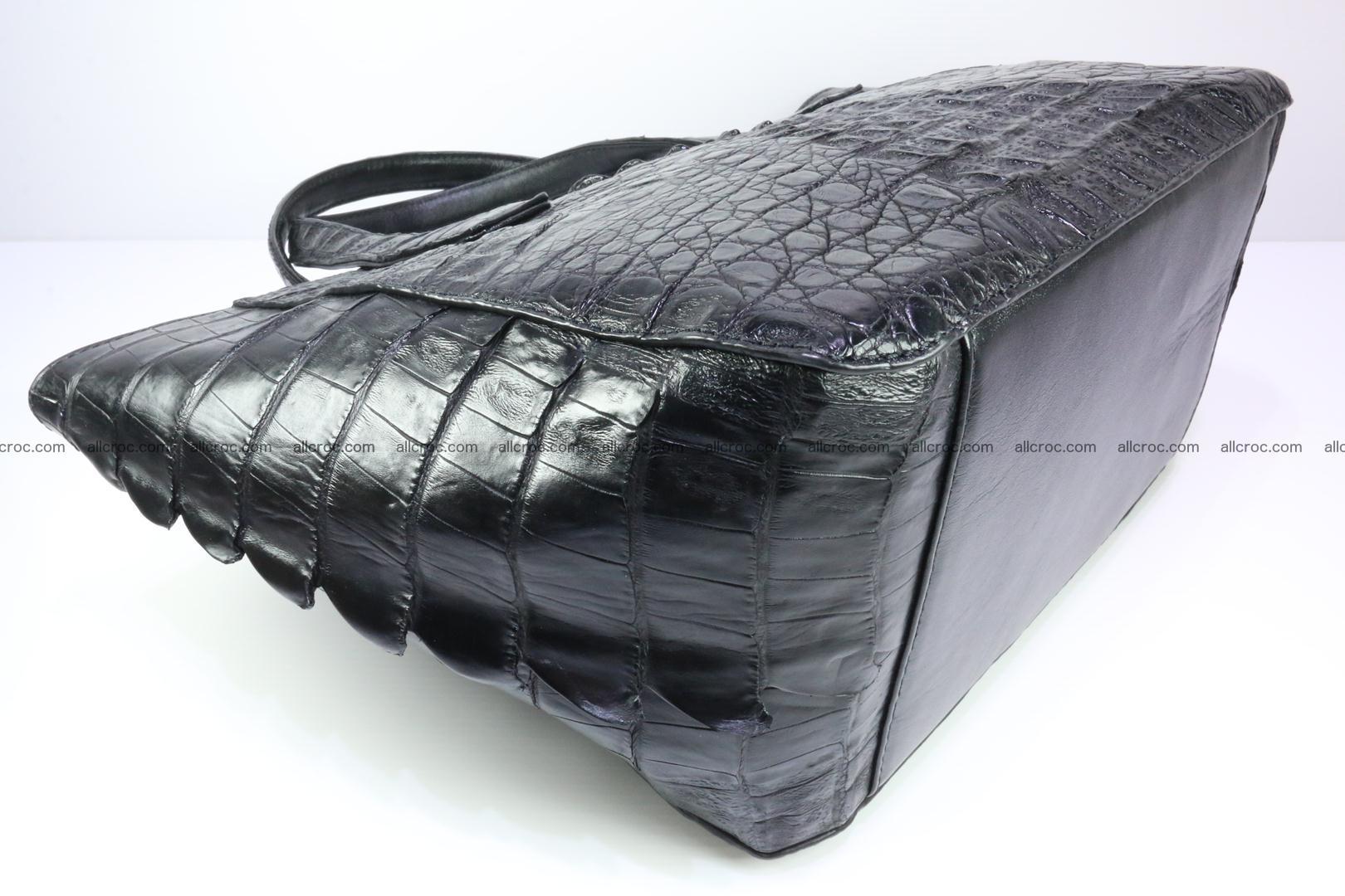 Genuine crocodile women's handbag 060 Foto 10