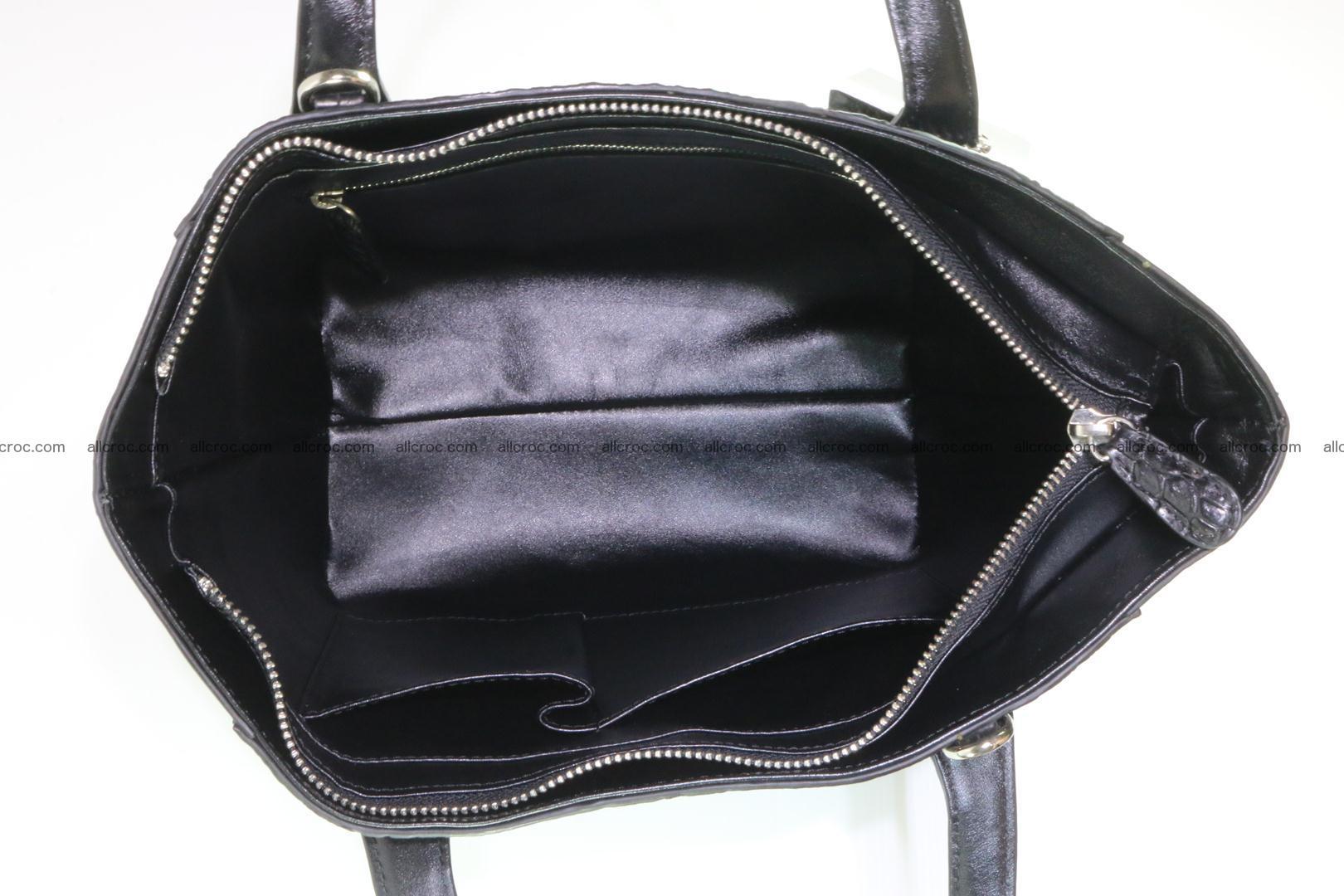 Genuine crocodile women's handbag 060 Foto 9