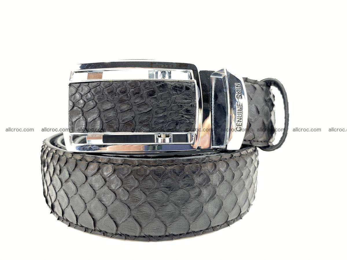 Python snake leather belt 697 Foto 0
