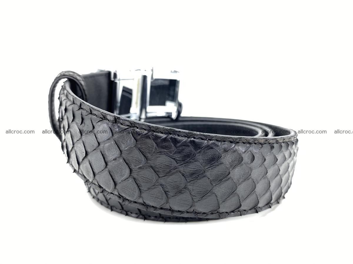 Python snake leather belt 697 Foto 2