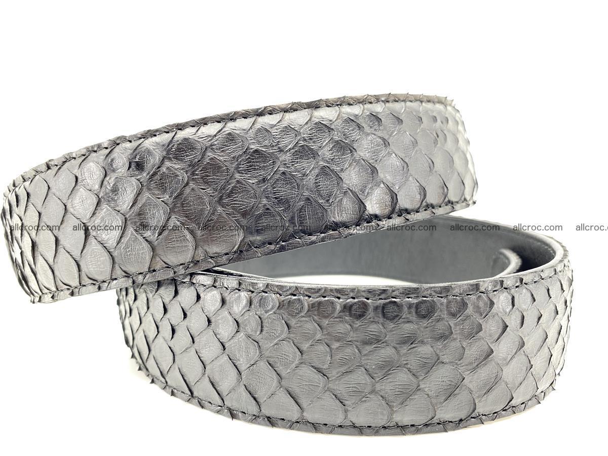 Python snake leather belt 697 Foto 3