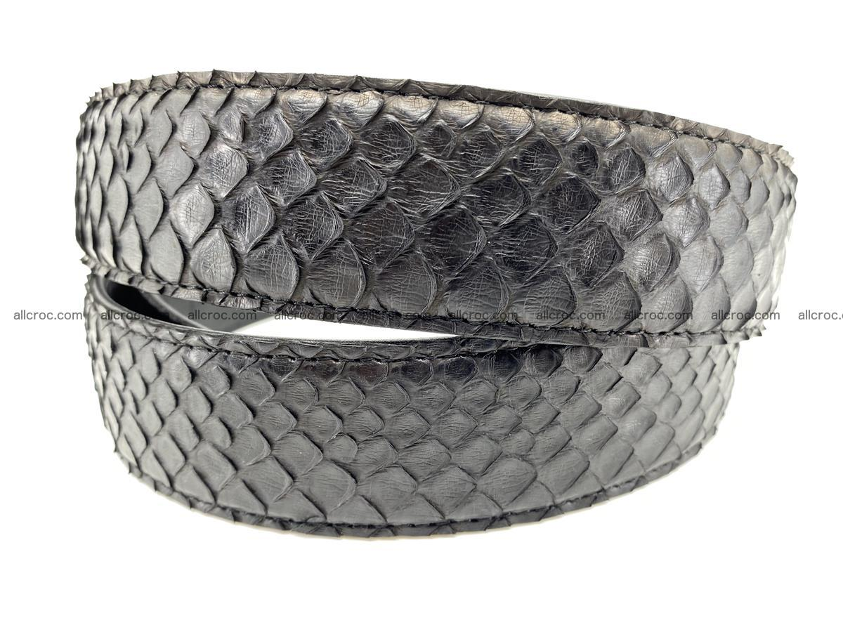Python snake leather belt 697 Foto 4