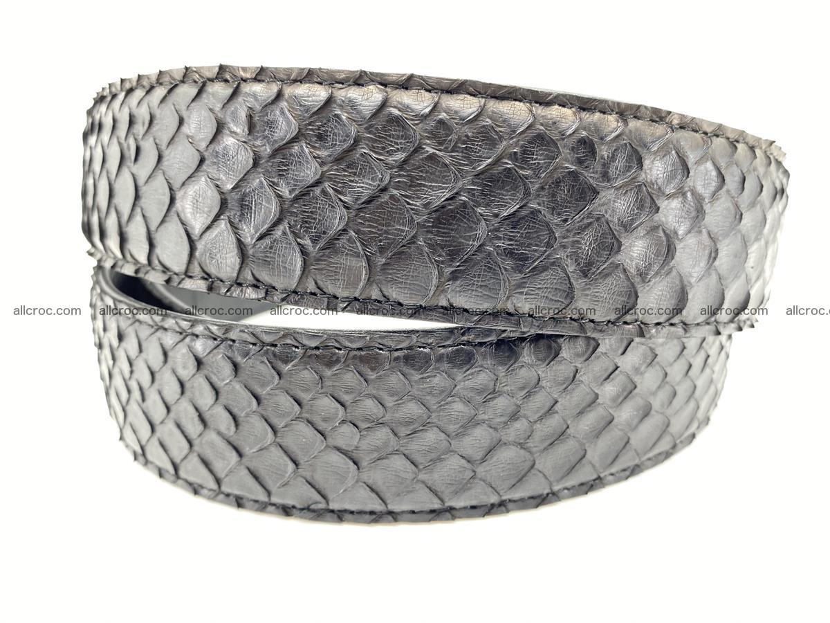 Python snake leather belt 697 Foto 5