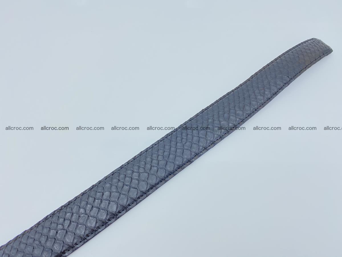 Python snake leather belt 697 Foto 10