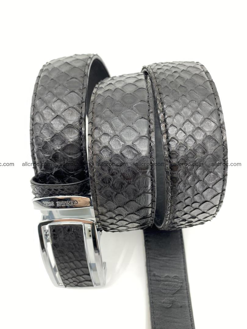 Python snake leather belt 697 Foto 6