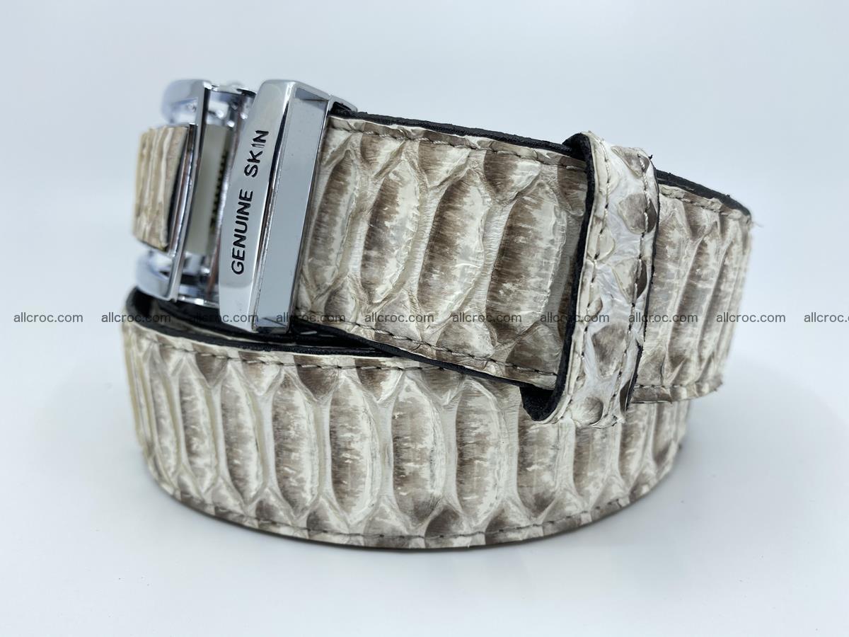 Python snake leather belt 701 Foto 1