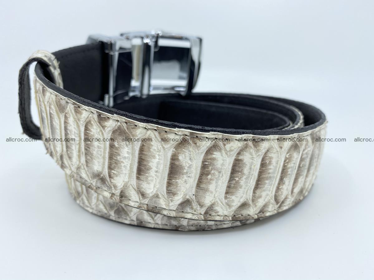 Python snake leather belt 701 Foto 2