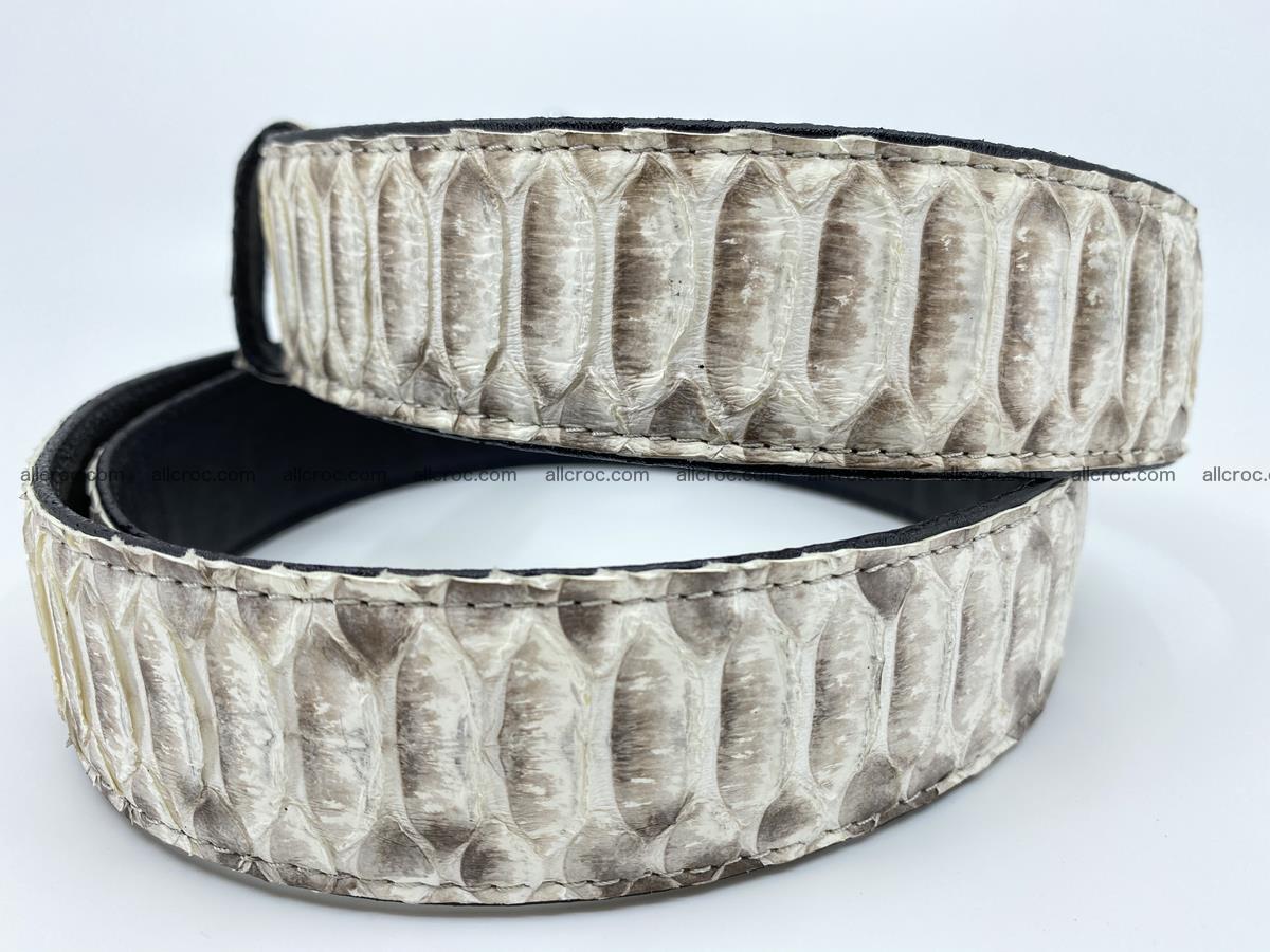 Python snake leather belt 701 Foto 3