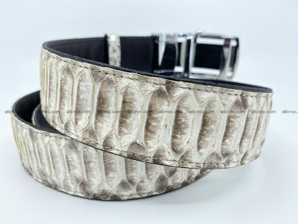Python snake leather belt 701 Foto 4