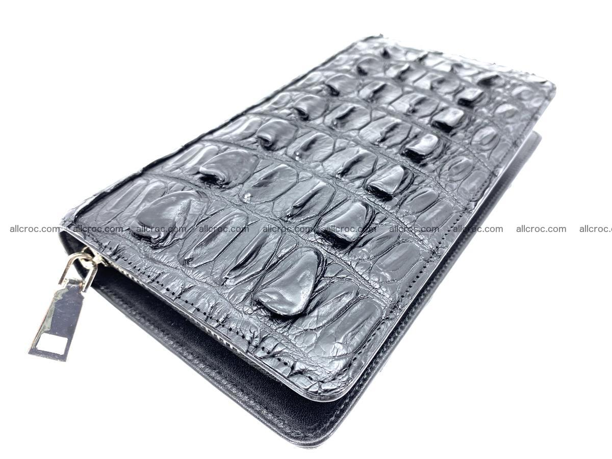 Crocodile skin zip wallet 610 Foto 0