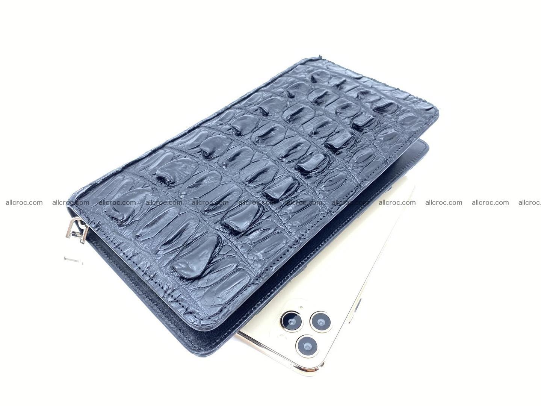 Crocodile skin zip wallet 610 Foto 0