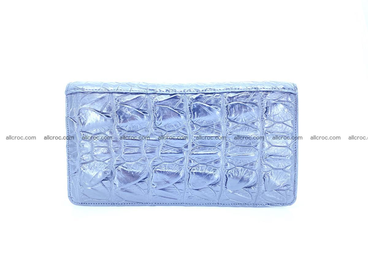 Crocodile skin zip wallet 610 Foto 2