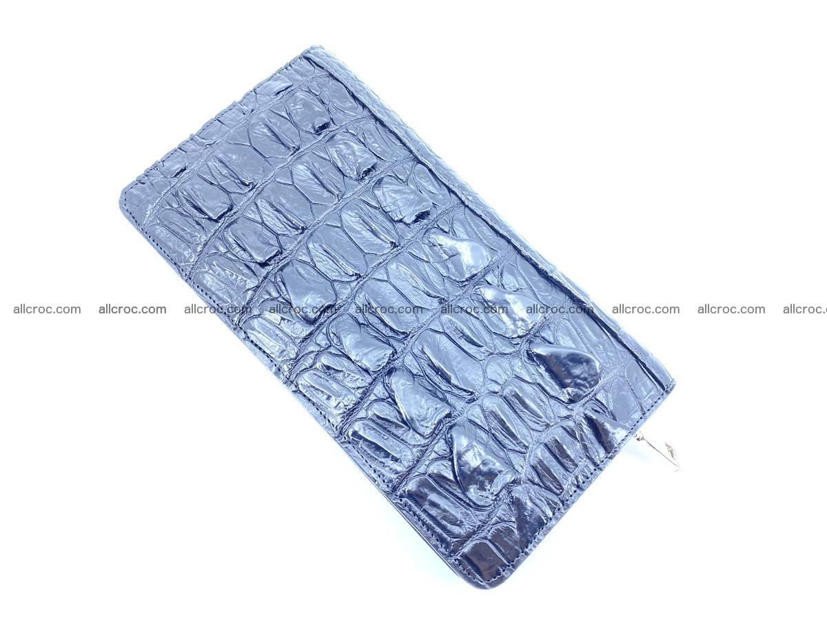 Crocodile skin zip wallet 610 Foto 7