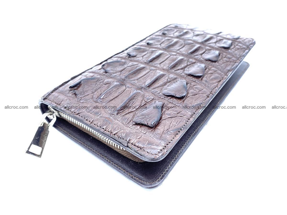 Crocodile skin wallet 1 zip 962 Foto 0
