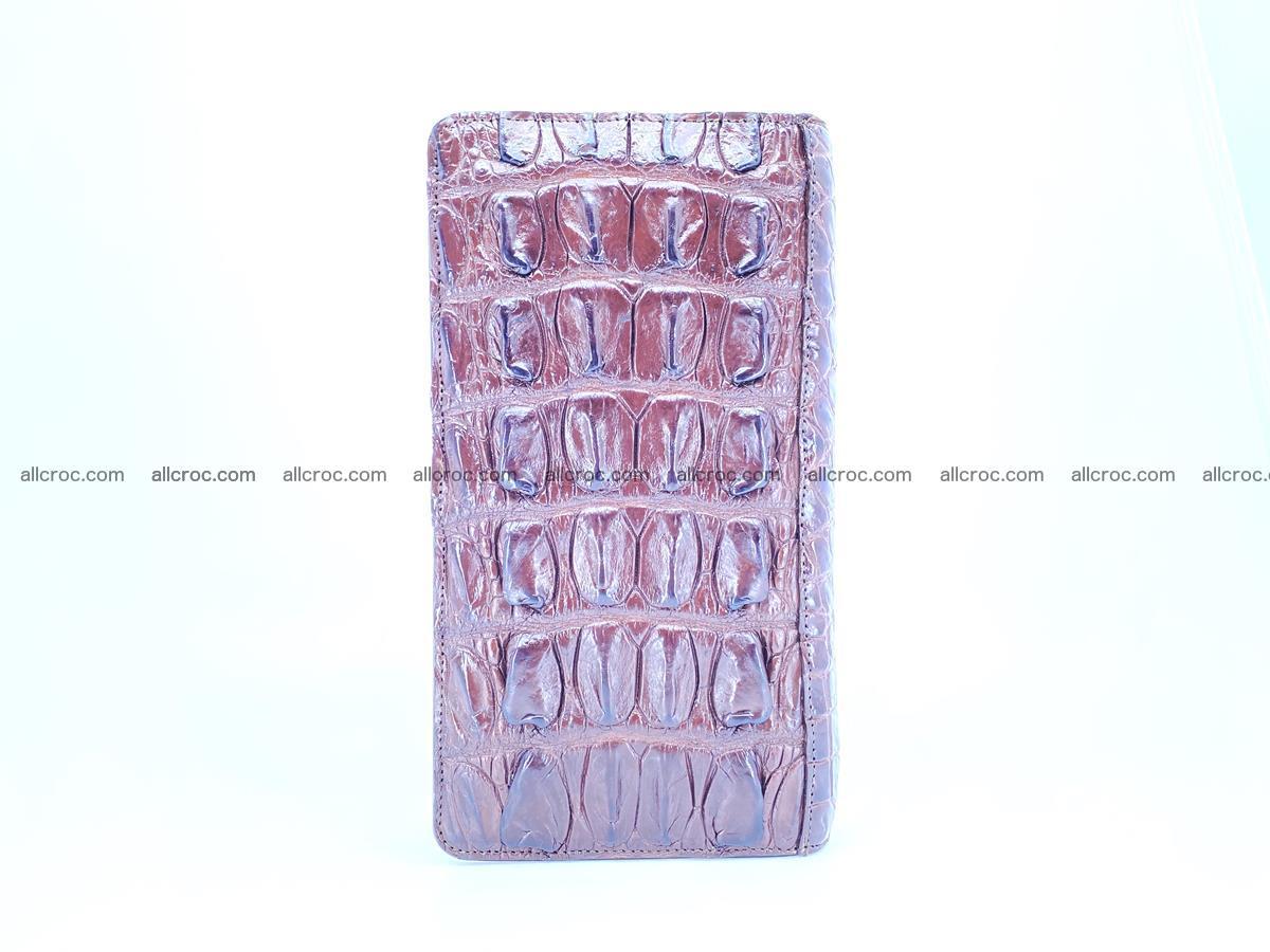Crocodile skin wallet 1 zip 962 Foto 6