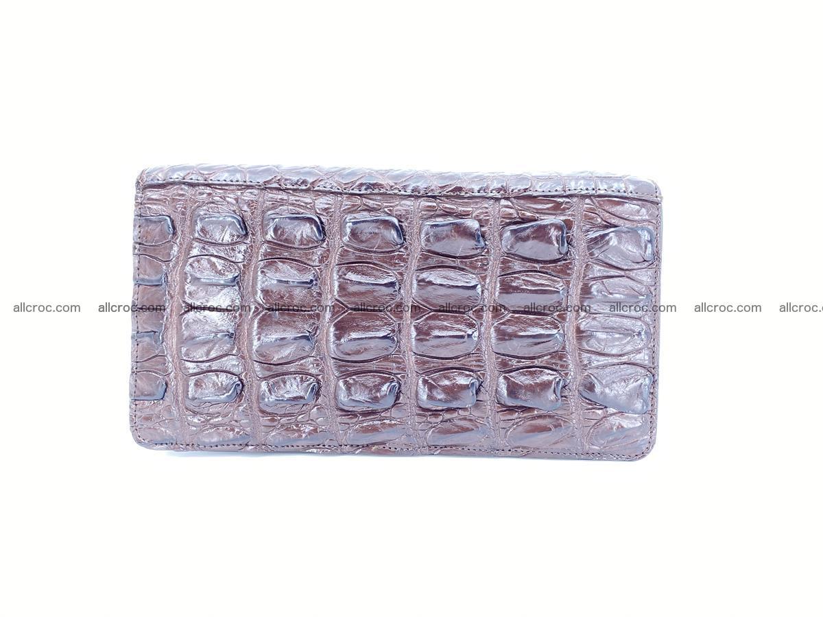 Crocodile skin wallet 1 zip 962 Foto 2