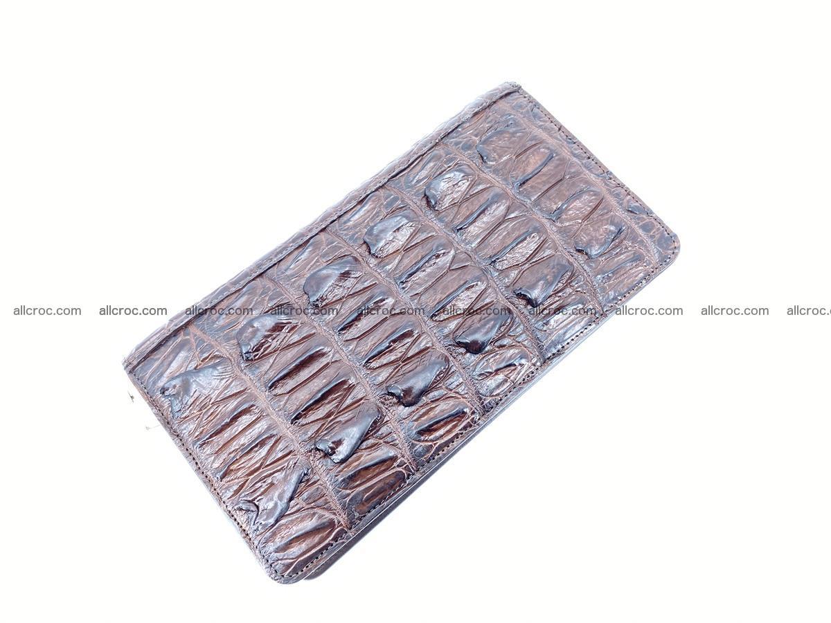 Crocodile skin wallet 1 zip 962 Foto 7