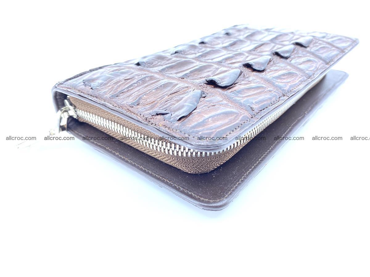 Crocodile skin wallet 1 zip 962 Foto 1