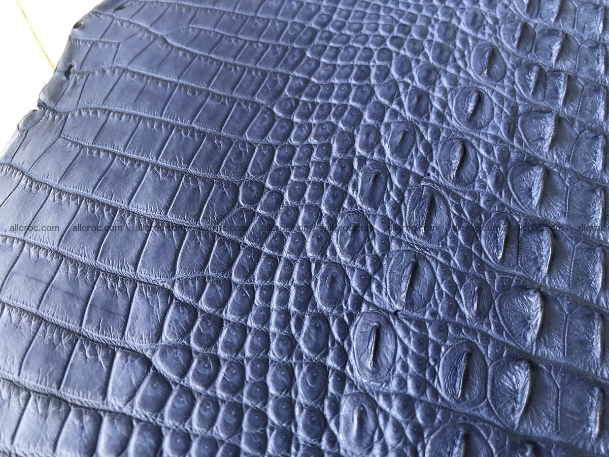 Genuine Siamese crocodile skin, hide hornback part 420 Foto 4