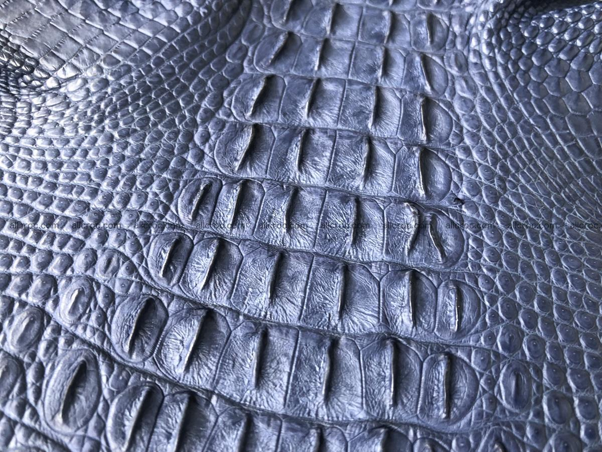 Genuine Siamese crocodile skin, hide hornback part 420 Foto 7