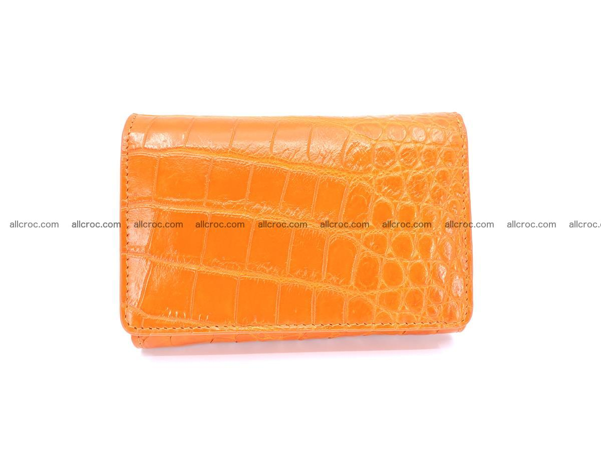 Genuine Siamese crocodile skin wallet for women 411 Foto 0