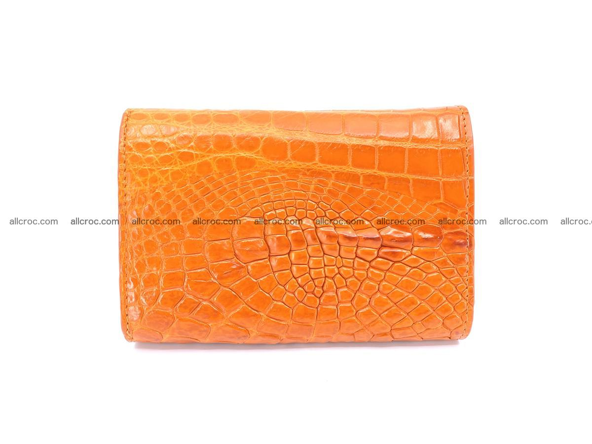 Genuine Siamese crocodile skin wallet for women 411 Foto 1