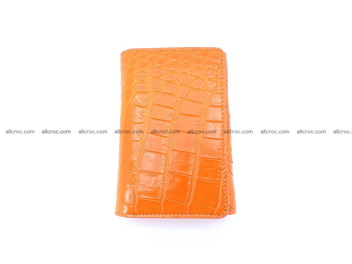 Genuine Siamese crocodile skin wallet for women 411 Foto 4