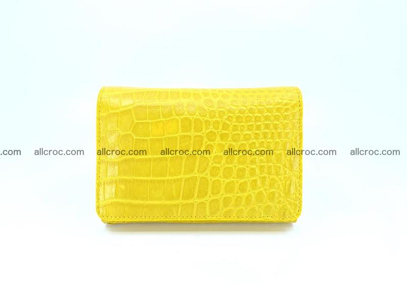 Genuine Siamese crocodile skin wallet for women 410