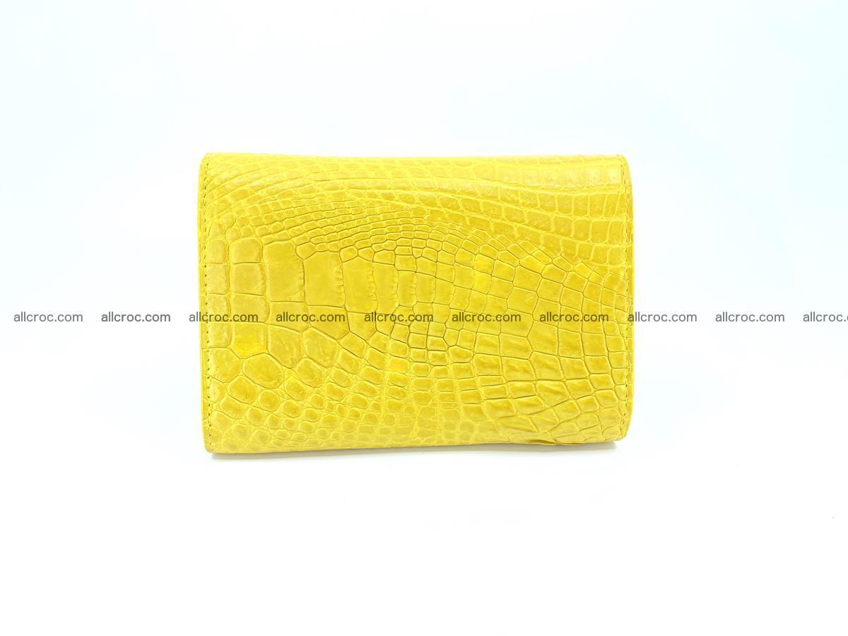 Genuine Siamese crocodile skin wallet for women 410 Foto 1