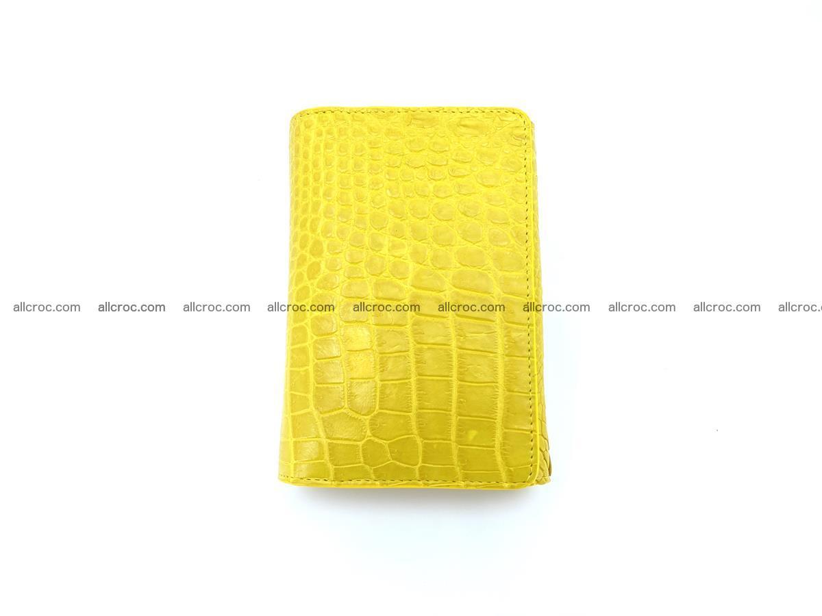 Genuine Siamese crocodile skin wallet for women 410 Foto 2
