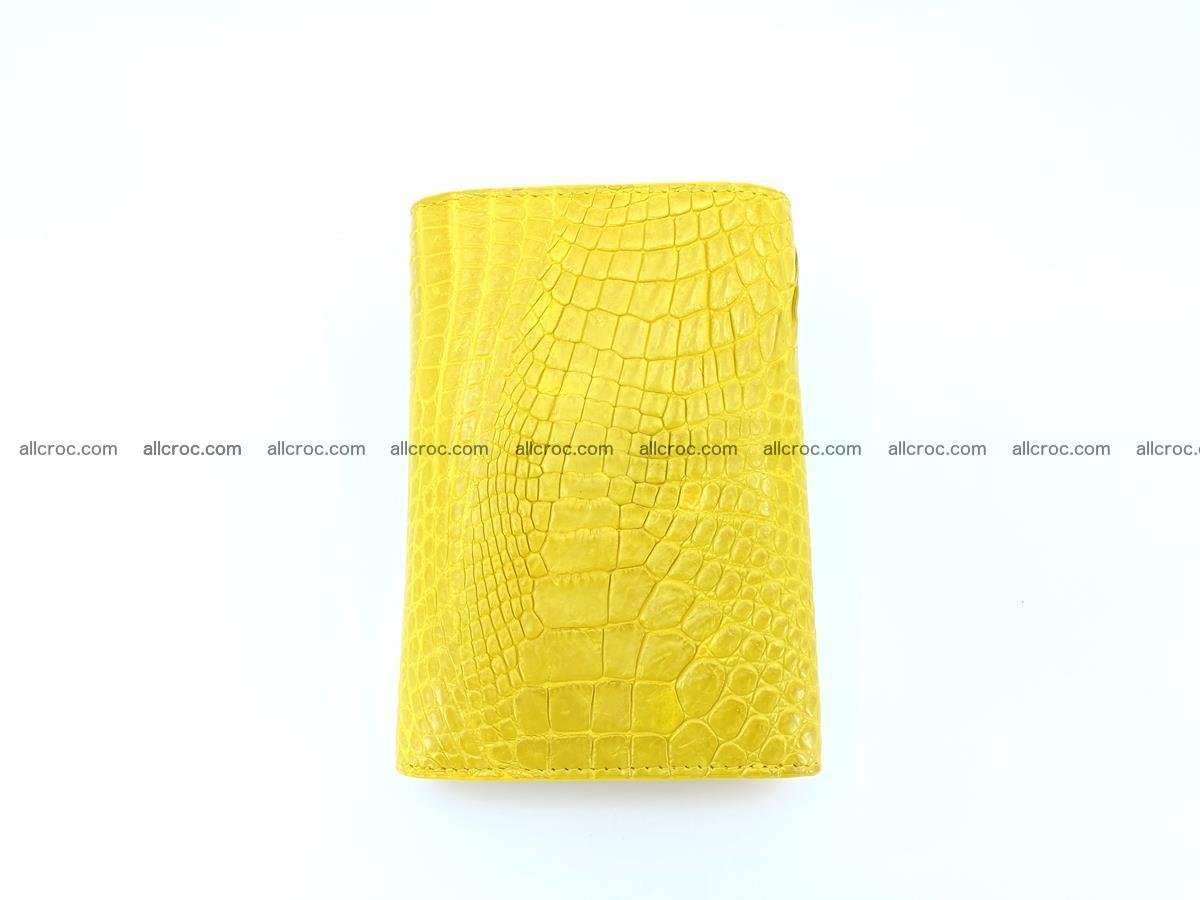 Genuine Siamese crocodile skin wallet for women 410 Foto 3