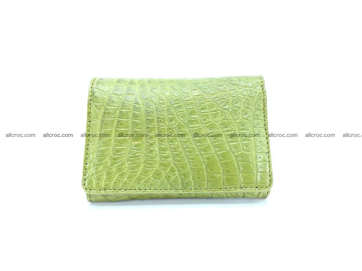 Genuine Siamese crocodile skin wallet for women 409 Foto 0