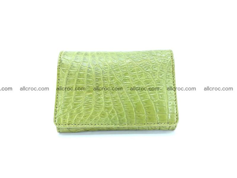 Genuine Siamese crocodile skin wallet for women 409