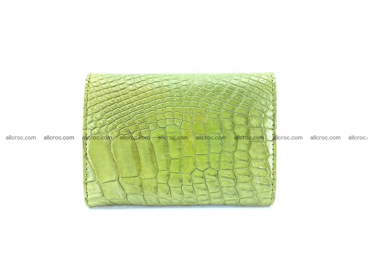Genuine Siamese crocodile skin wallet for women 409 Foto 1