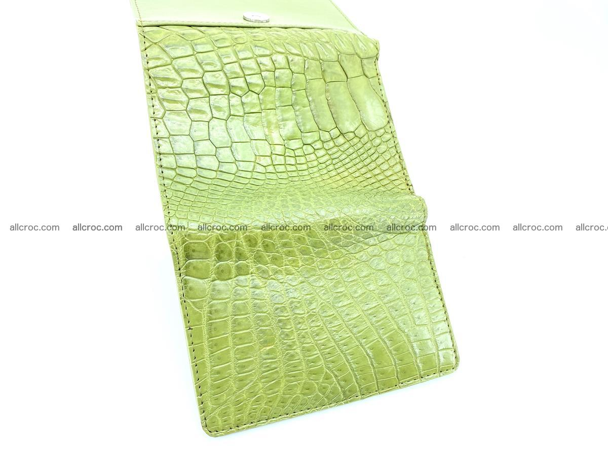Genuine Siamese crocodile skin wallet for women 409 Foto 6