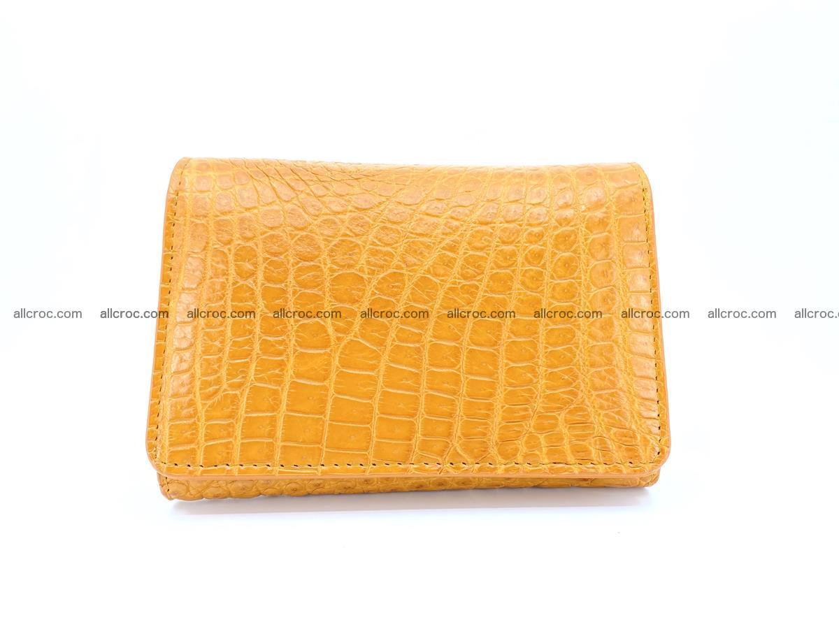 Genuine Siamese crocodile skin wallet for women 413 Foto 0