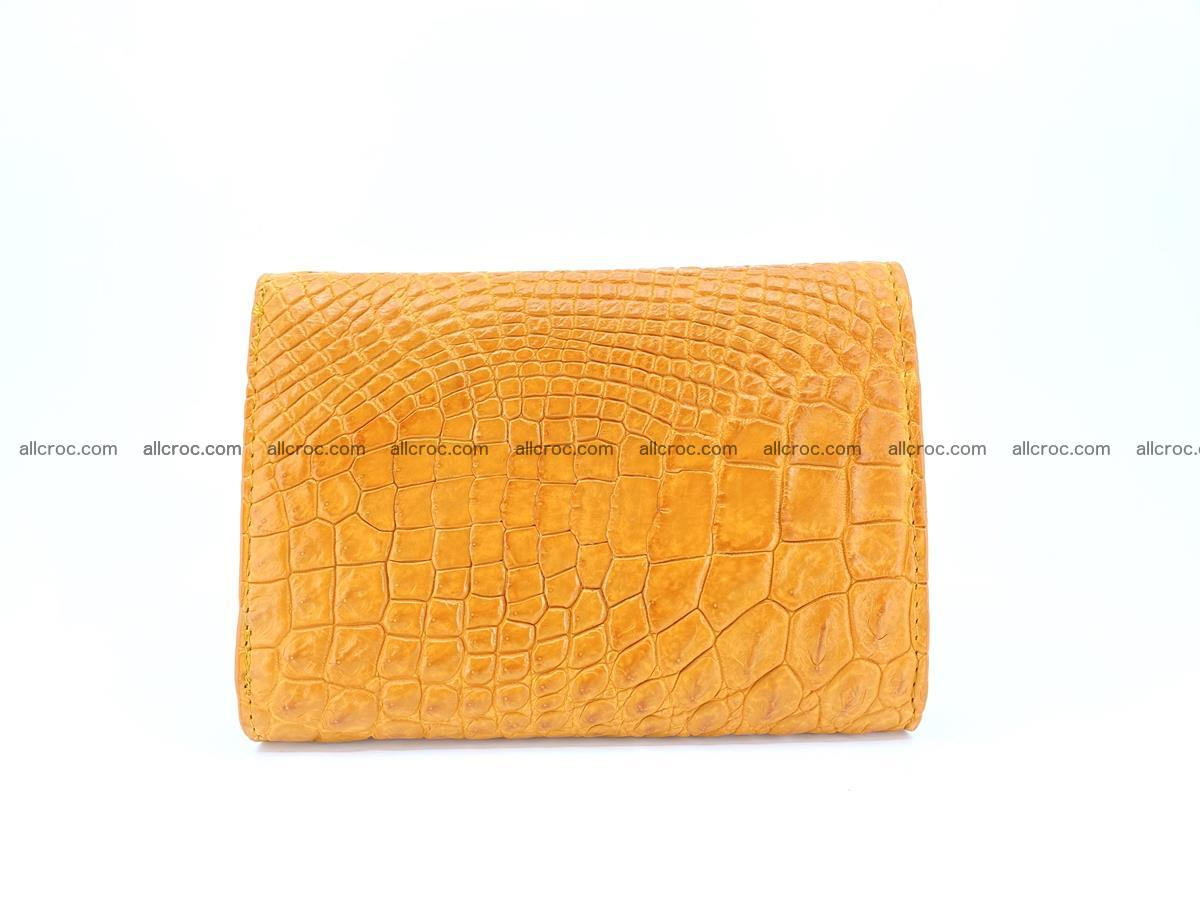 Genuine Siamese crocodile skin wallet for women 413 Foto 1