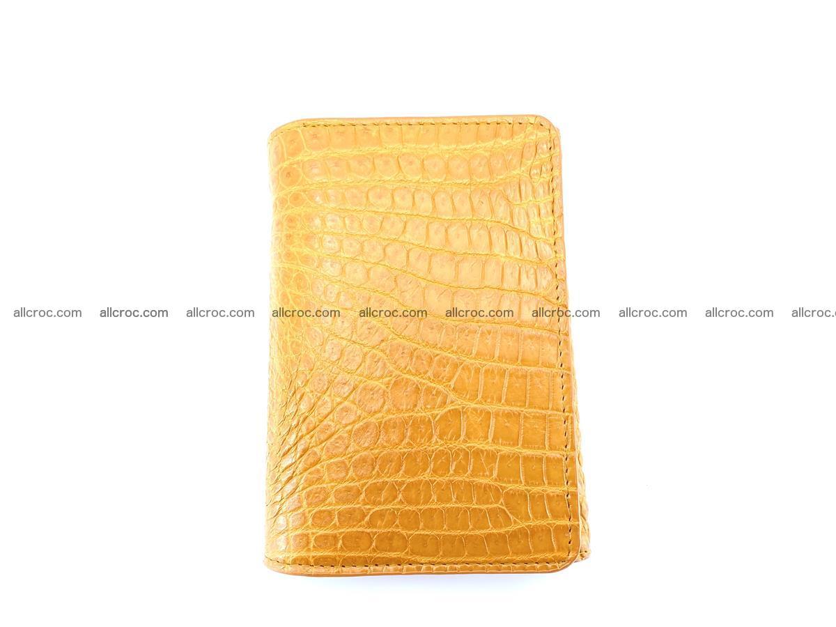 Genuine Siamese crocodile skin wallet for women 413 Foto 2