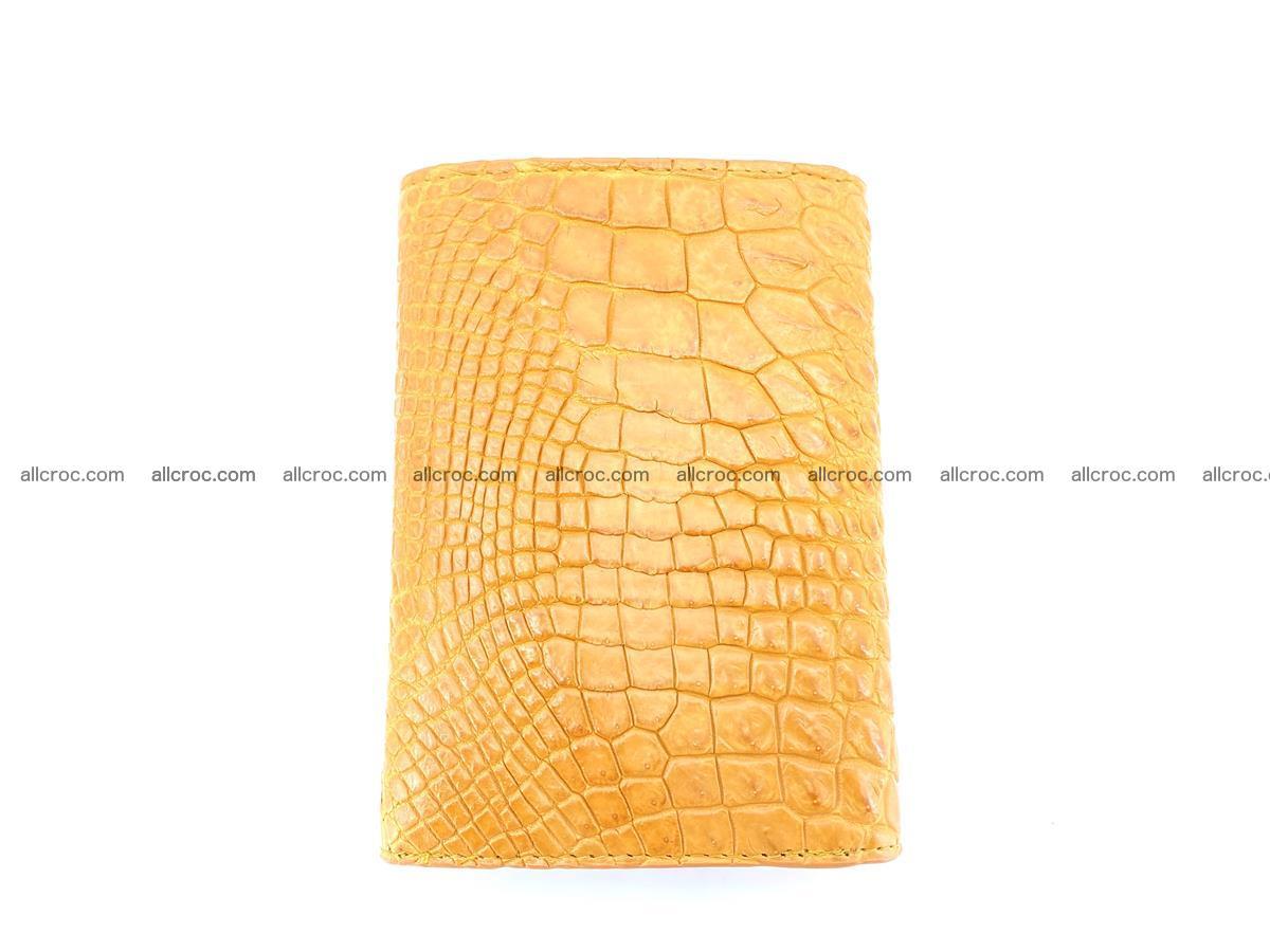 Genuine Siamese crocodile skin wallet for women 413 Foto 3