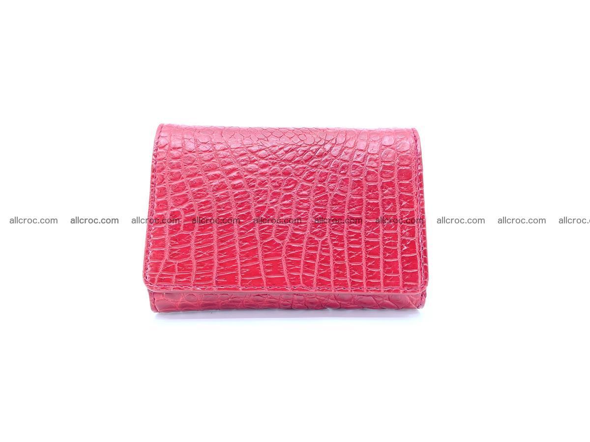 Genuine Siamese crocodile skin wallet for women 408 Foto 0