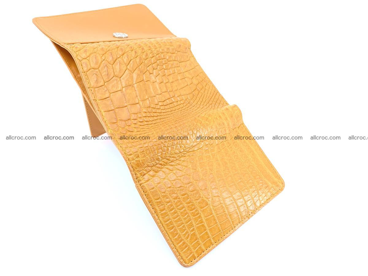 Genuine Siamese crocodile skin wallet for women 413 Foto 9
