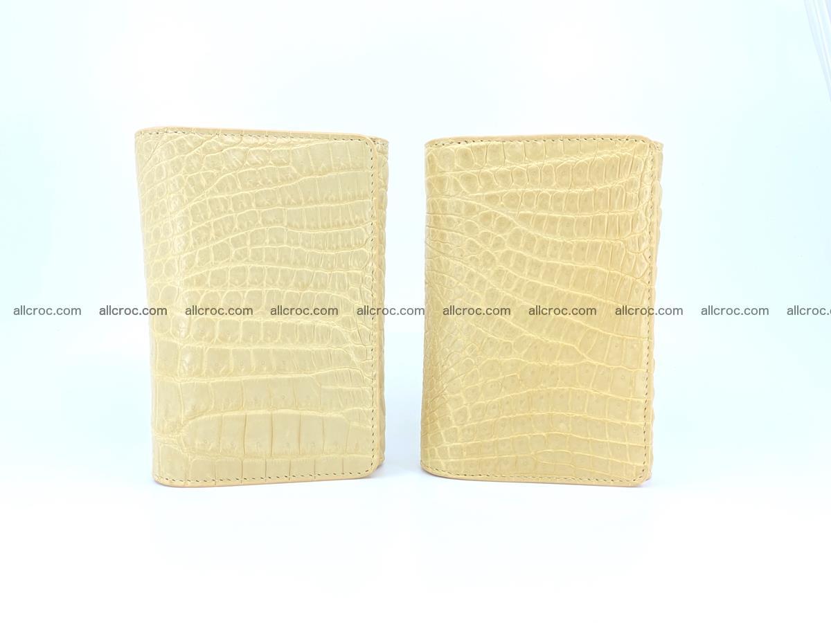 Genuine Siamese crocodile skin wallet for women 415 Foto 11