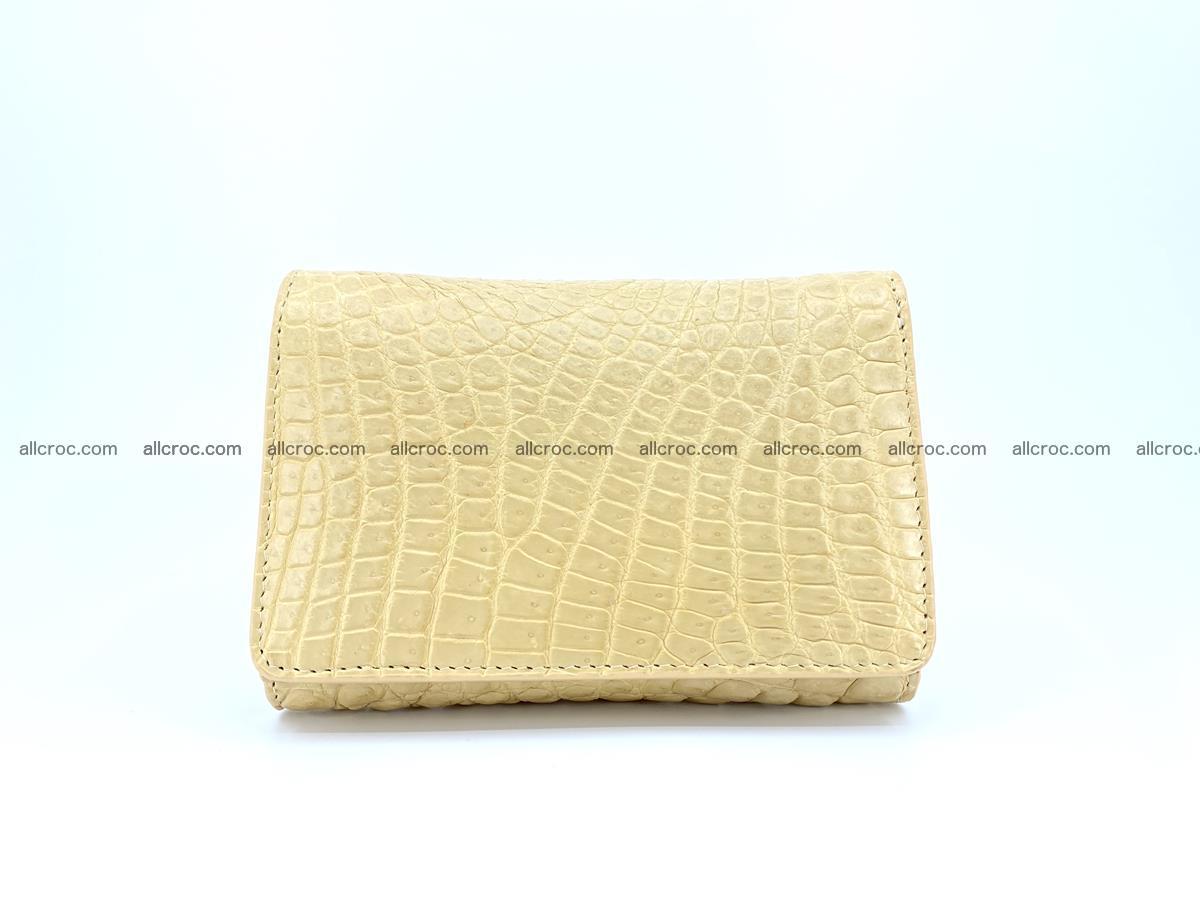Genuine Siamese crocodile skin wallet for women 415 Foto 0