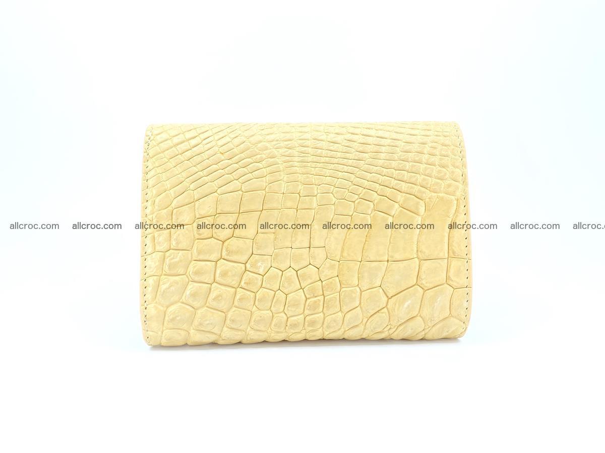 Genuine Siamese crocodile skin wallet for women 415 Foto 1