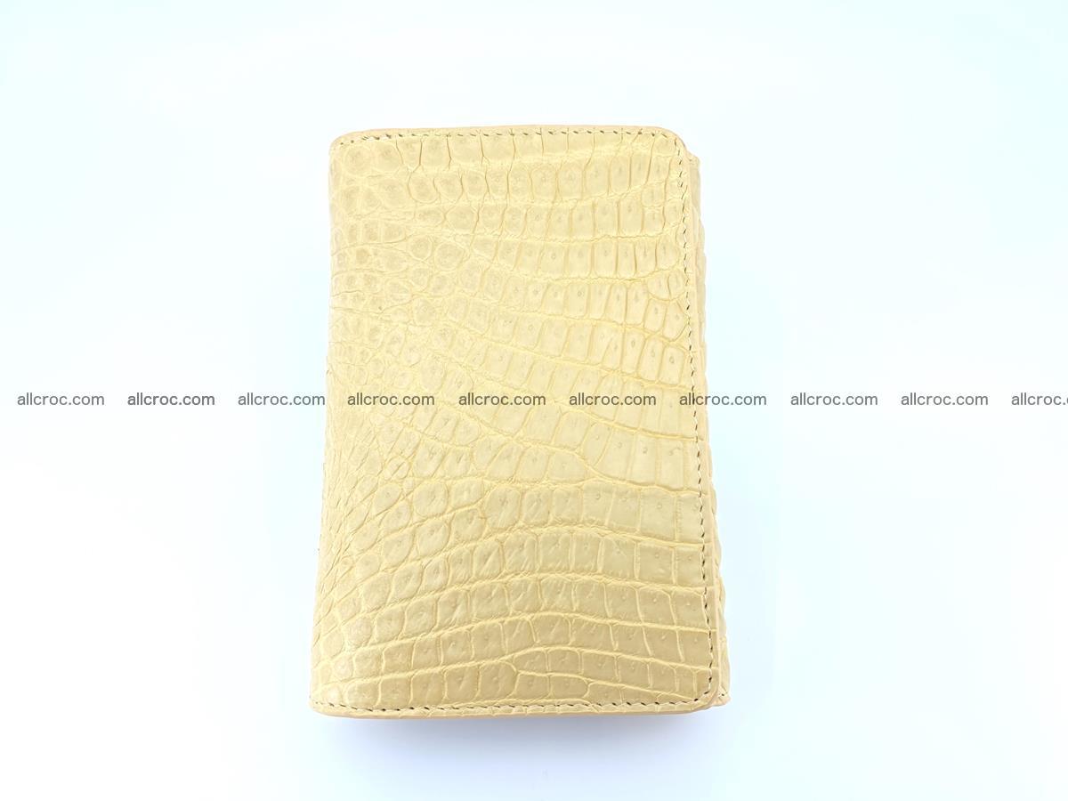 Genuine Siamese crocodile skin wallet for women 415 Foto 2