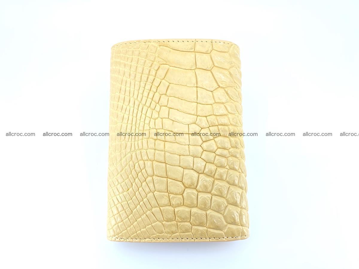 Genuine Siamese crocodile skin wallet for women 415 Foto 3
