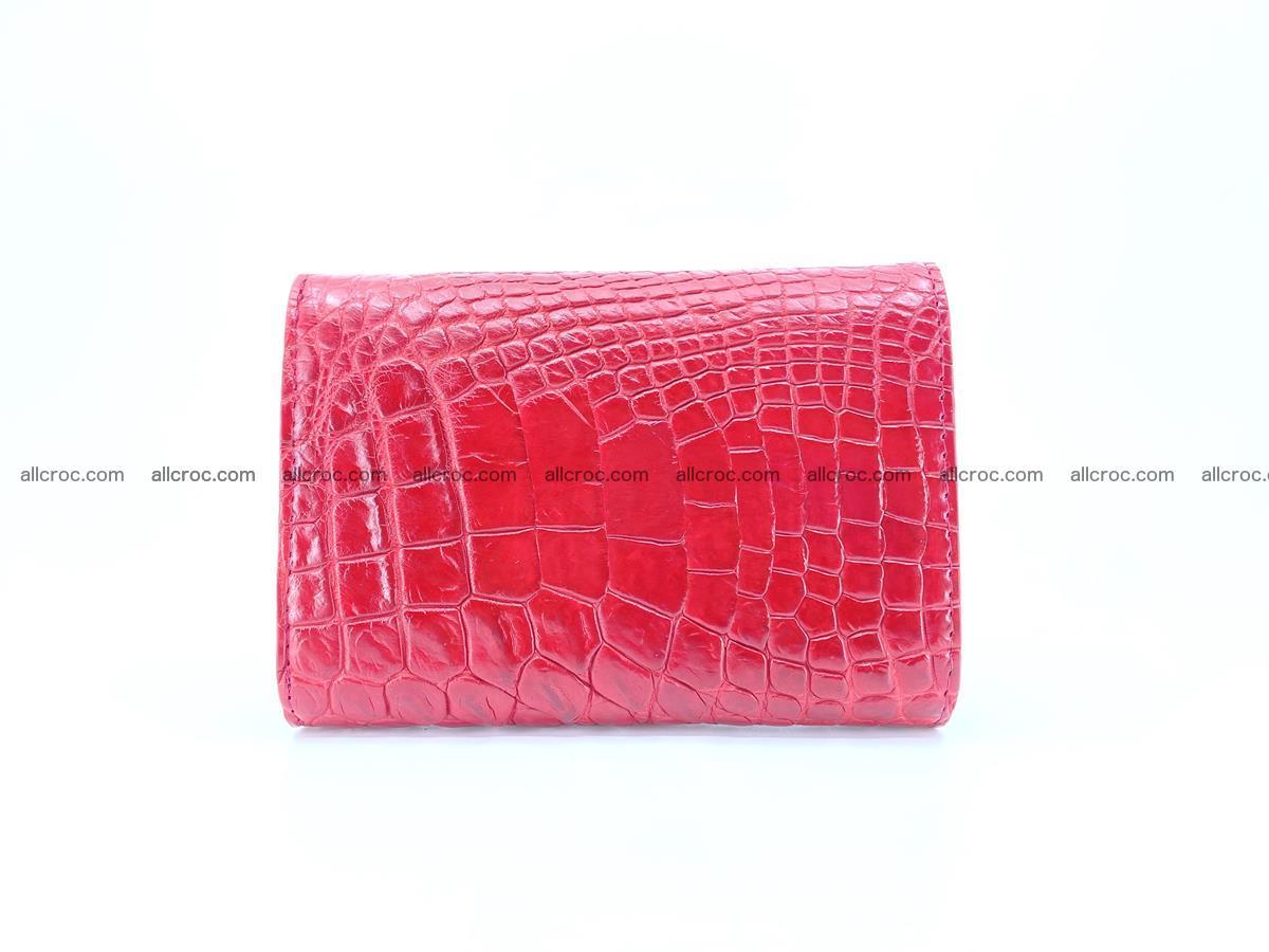 Genuine Siamese crocodile skin wallet for women 408 Foto 1