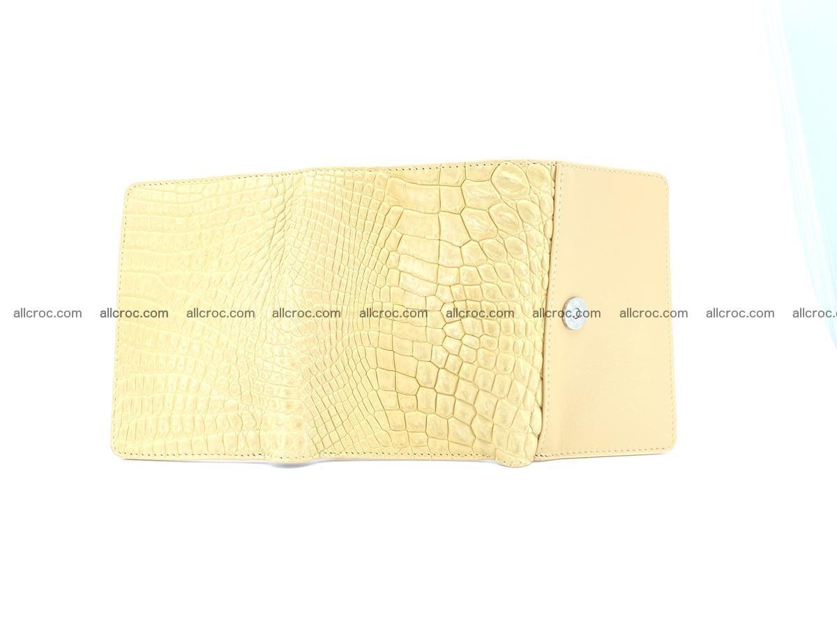 Genuine Siamese crocodile skin wallet for women 415 Foto 8