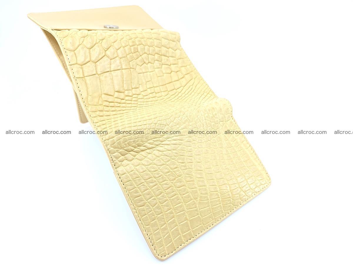 Genuine Siamese crocodile skin wallet for women 415 Foto 9
