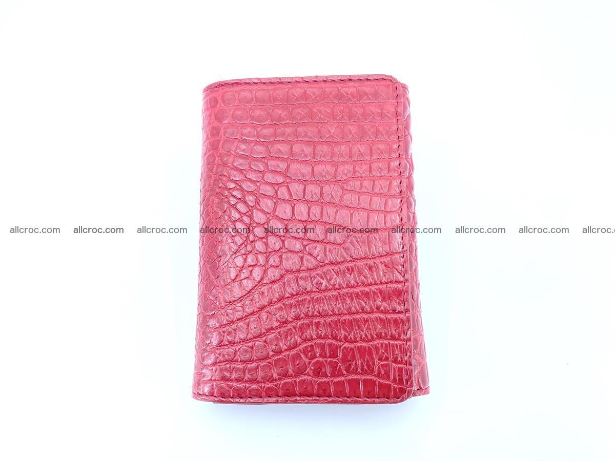 Genuine Siamese crocodile skin wallet for women 408 Foto 3
